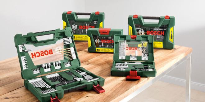 Bosch V-Line-Zubehör-Sets für Heimwerker