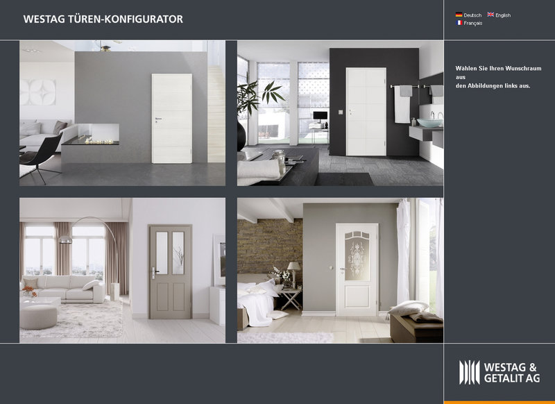 t ren online konfigurieren mit dem online konfigurator. Black Bedroom Furniture Sets. Home Design Ideas