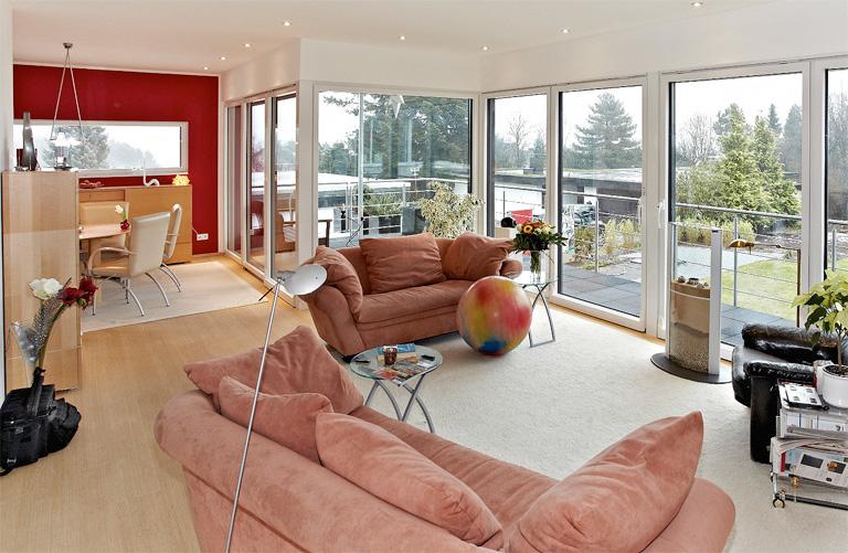 fensterfl chen f r lichtdurchflutete r ume. Black Bedroom Furniture Sets. Home Design Ideas