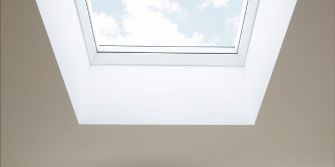 Flachdach-Fenster von Velux