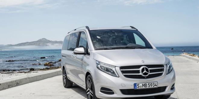 Neue V-Klasse von Mercedes-Benz