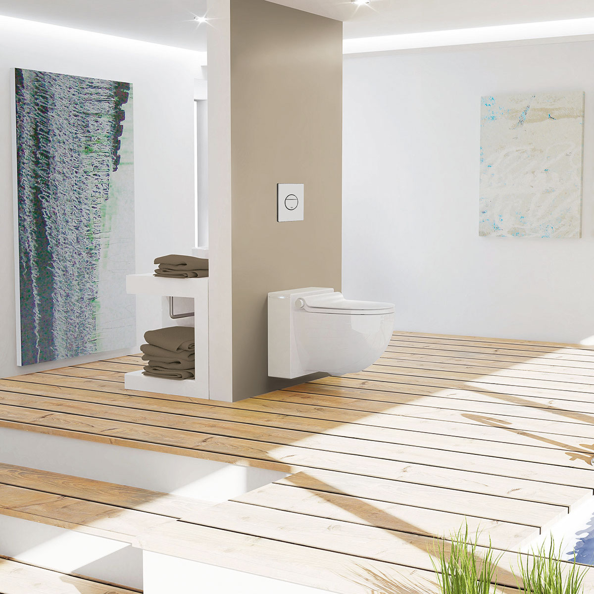 grohe sensia die neue generation dusch wc. Black Bedroom Furniture Sets. Home Design Ideas