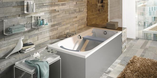 Neue Komfort Badewannen von Keramag