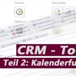CRM-Kalenderfunktion