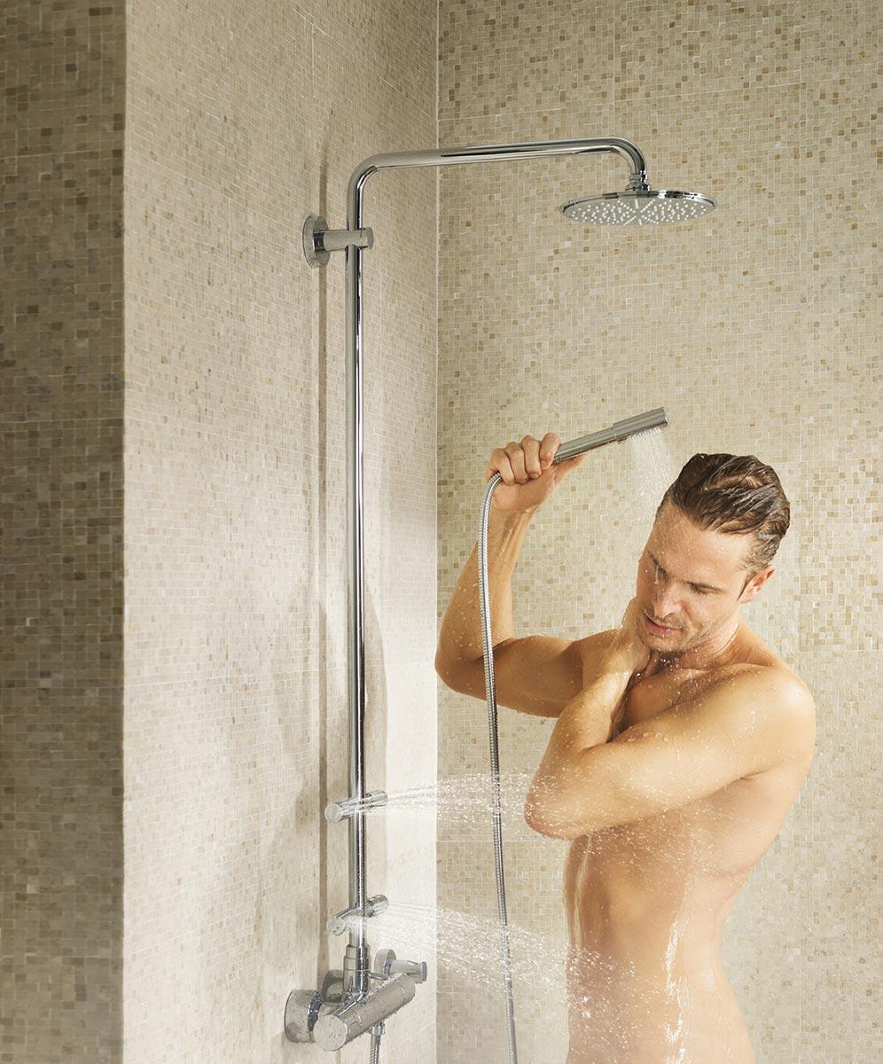 Rainshower Dusche Erfahrungen : GROHE Duschsysteme ? Genuss pur