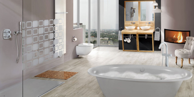 Luxus Entspannung durch GROHE SPA ®