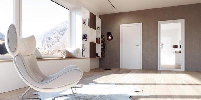 Antea Designtüren – klare Linien für zeitloses Wohnraumdesign