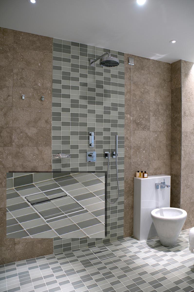 bodengleiche dusche f r alle gef lle. Black Bedroom Furniture Sets. Home Design Ideas
