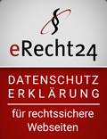 eRecht24-Datenschutzerklärung