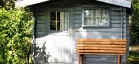 Holz für ein Gartenhaus richtig zuschneiden